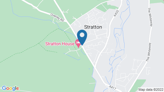Stratton House Hotel & Spa Map