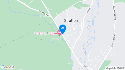 Stratton House Hotel Map