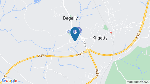 The Begelly Arms Map