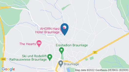 Maritim Berghotel Braunlage Map