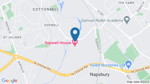 Sopwell House Map