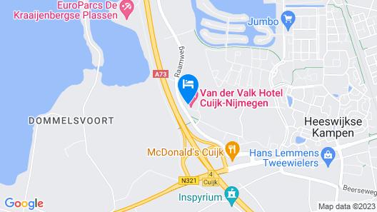 Van Der Valk Hotel Cuijk - Nijmegen Map