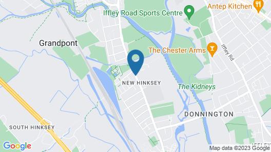 Victoria Oxford Map