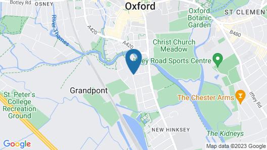 Ethos Hotel Map
