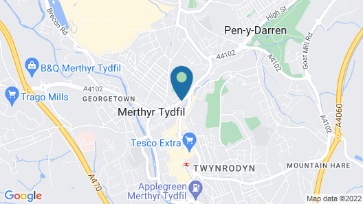 James Place @ Pontmorlais Map