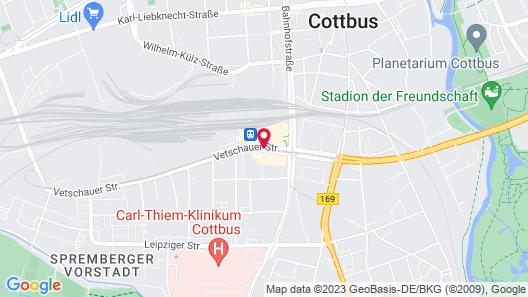 Radisson Blu Hotel, Cottbus Map