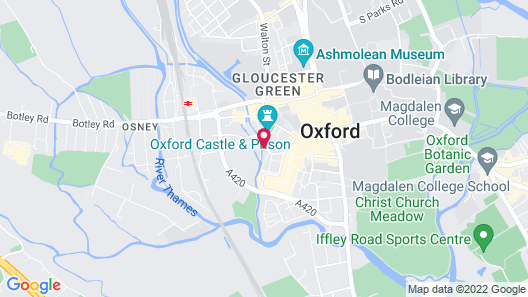 Courtyard by Marriott Oxford City Centre Map