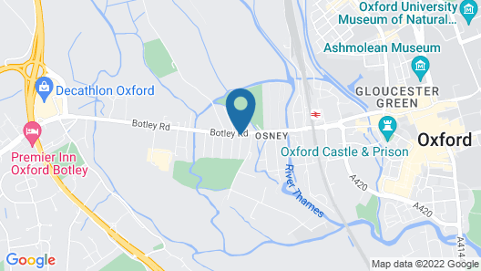 The Osney Arms Guest House Map