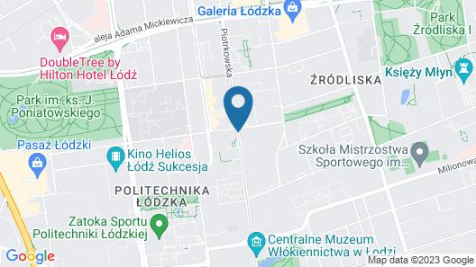 Holiday Inn Lodz Map