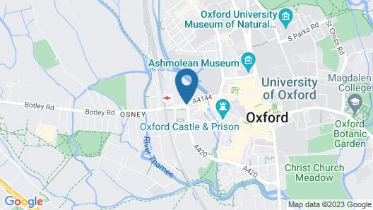 Royal Oxford Hotel Map