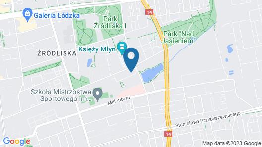 Dream Aparts - Lofty Scheiblera Map