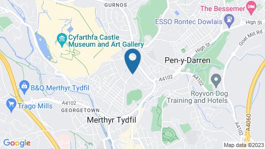 Studios At Glenthorne Map