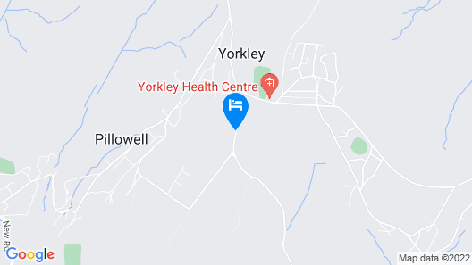 Dean Valley Panorama Bed and Breakfast Map