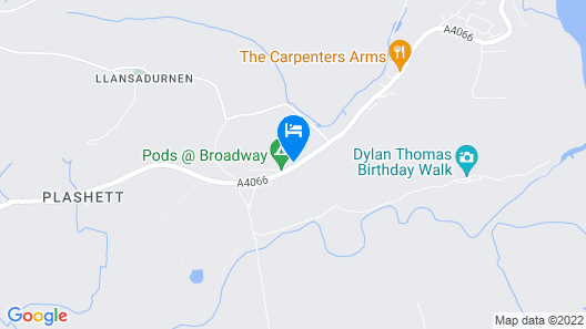 Pods @ Broadway Map