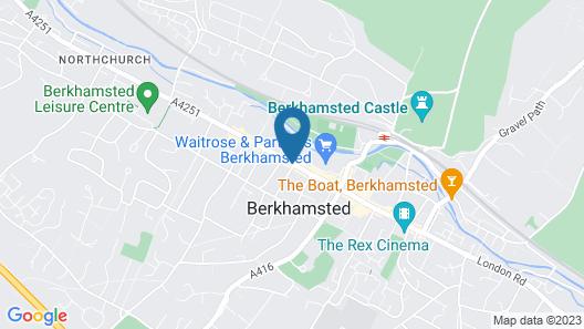 The Pennyfarthing Hotel Map