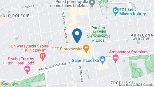 Stare Kino- Cinema Residence Map