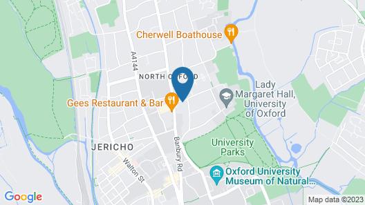 University of Oxford, Anne McLaren Kellog House Map