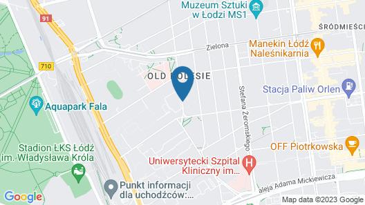Apartamenty Aparts Map