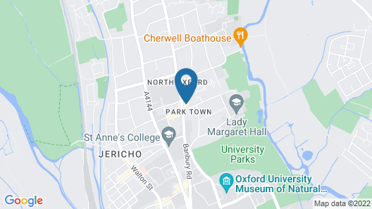 Cotswold Lodge Hotel Map