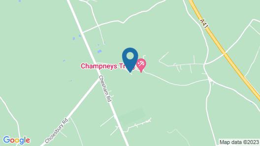 Champneys Tring Map