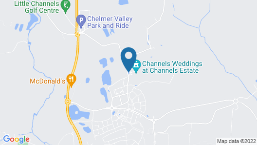Channels Hotel Map