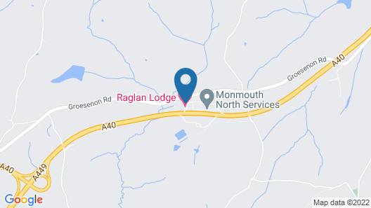 Raglan Lodge Map