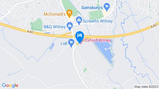 Oxford Witney Hotel Map
