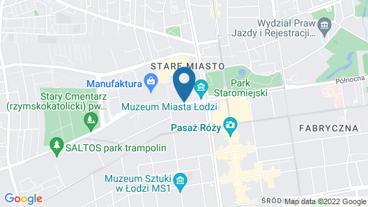 Vienna House Andel's Lodz Map