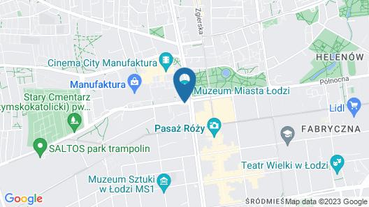 PURO Łódź Centrum Map