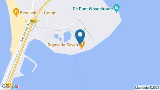 Oasis Punt-West Hotel & Beach Resort Map