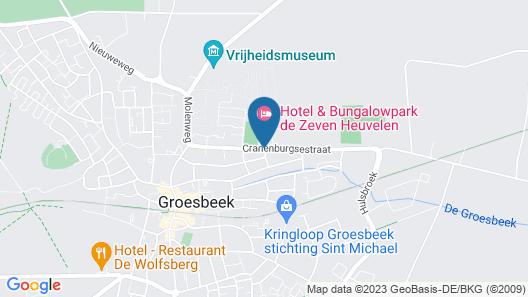 Hotel & Resort de Zeven Heuvelen Map