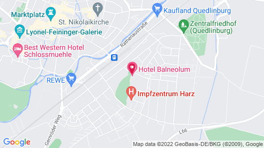 Hotel Balneolum Map
