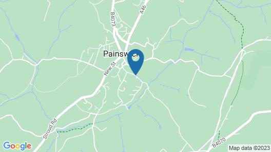 Tibbiwell Lodge - B&B Map