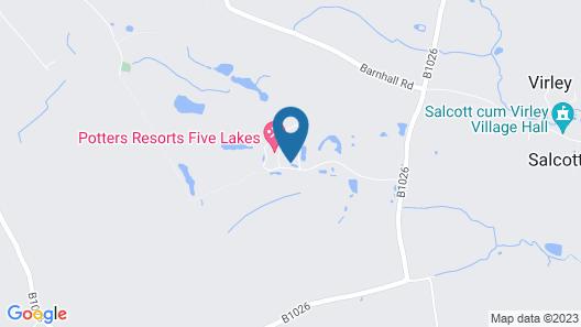 Five Lakes Resort Map
