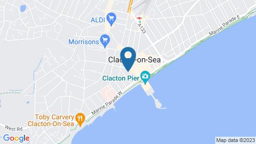 Stonar Guest House Map