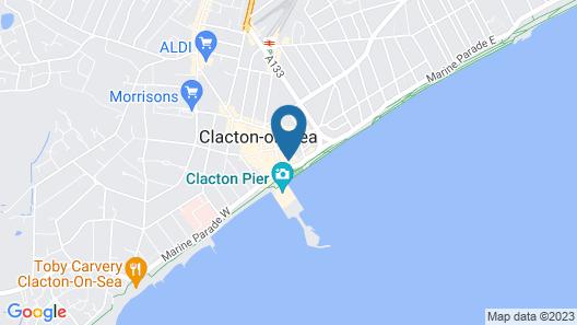 OYO Pier Hotel Map