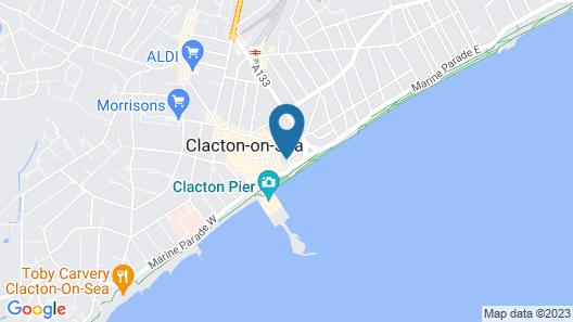 Hotel Sea Breeze Map