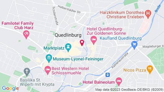 Wyndham Garden Quedlinburg Stadtschloss Map