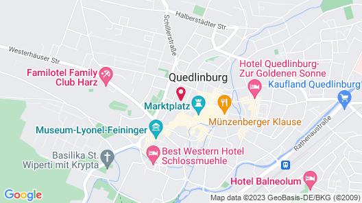 Schlosshotel Zum Markgrafen Map