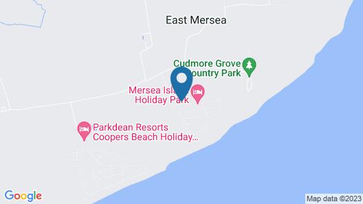 4 Berth Caravan in Mersea Island Holiday Park Map