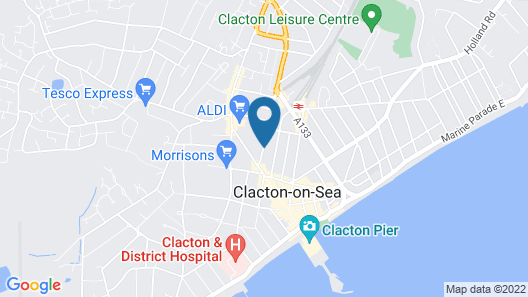 Adelaide Guesthouse Map