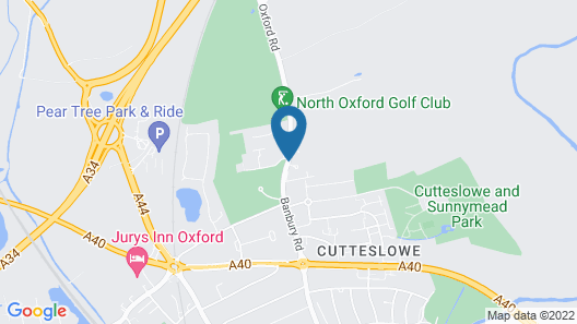 Five Mile Oxford Map