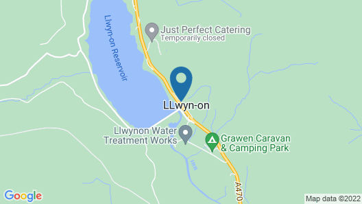 Llwyn Onn Guest House Map