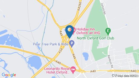 Holiday Inn Oxford Map