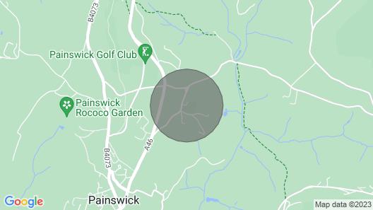 Dove Lodge - Painswick Map