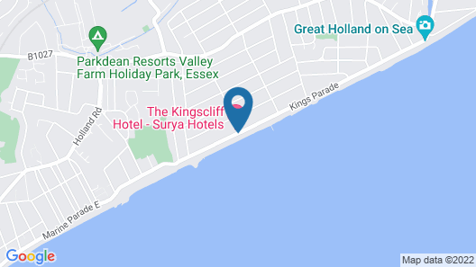 The Kingscliff Hotel Map