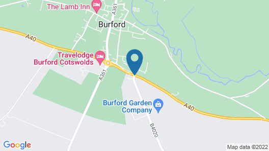 Burford Lodge Map
