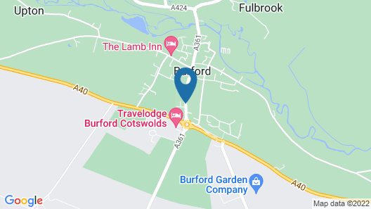 The Cotswold Gateway Hotel Map