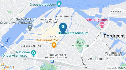 Arthouse B&B Dordrecht Map