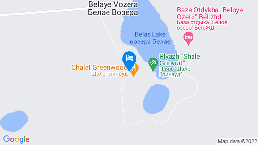 Chalet Greenwood Map